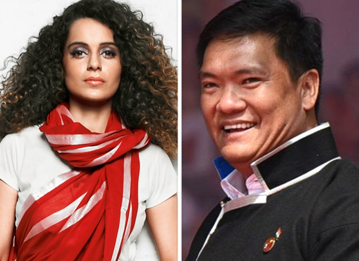 After Anupam Kher, Arunachal Pradesh CM, Pema Khandu praises Kangana Ranaut on social media