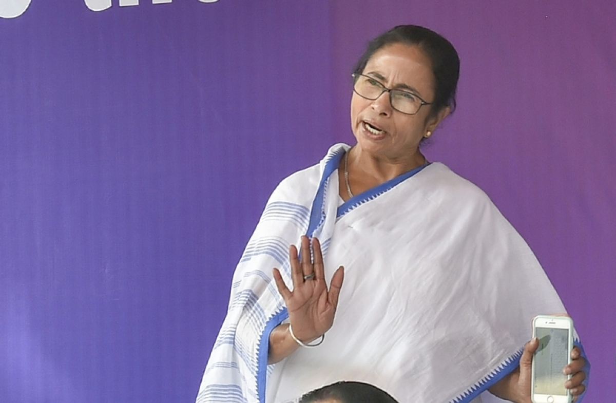 Limitless drama to reap political benefits: TMC chief Mamata Banerjee on Mission Shakti