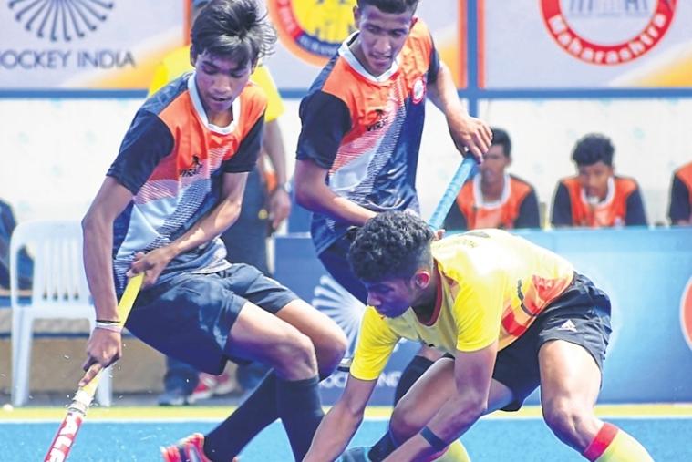 Hockey India Junior Men National Championship 2019 Maharashtra Sign