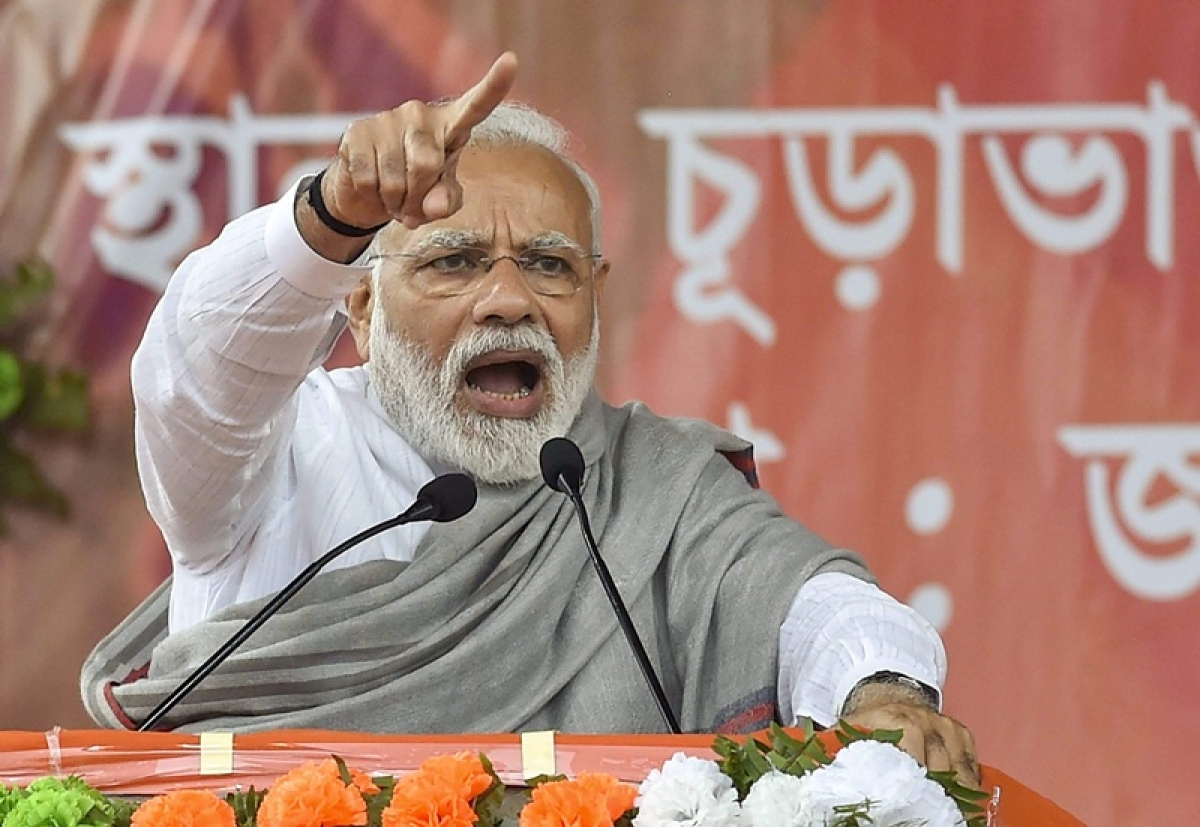 Pulwama terror attack: PM Modi says fire raging in his heart
