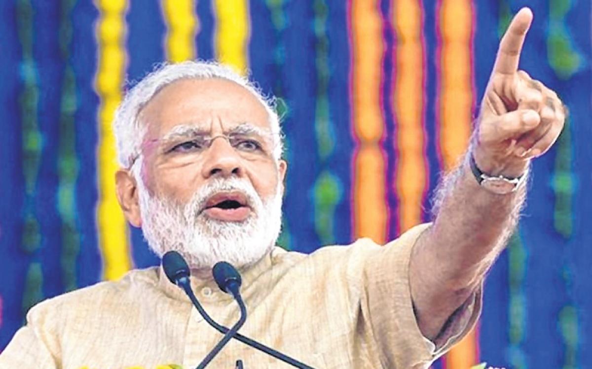 Congress is a sinking ship like Titanic: PM Narendra Modi