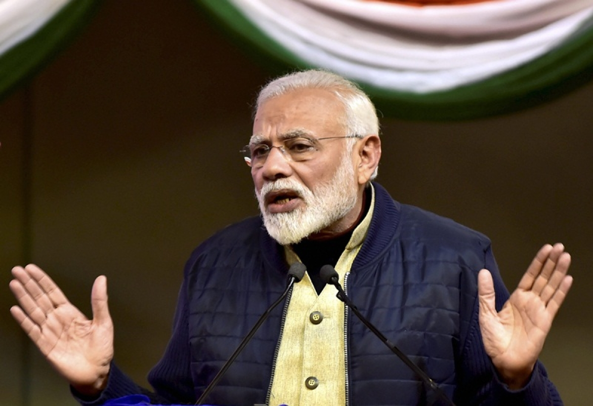Honest trust me, corrupt have a problem: Narendra Modi