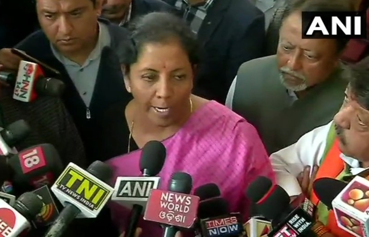 TMC doesn't 'believe' in democracy, says Nirmala Sitharaman after BJP delegation meets EC officials