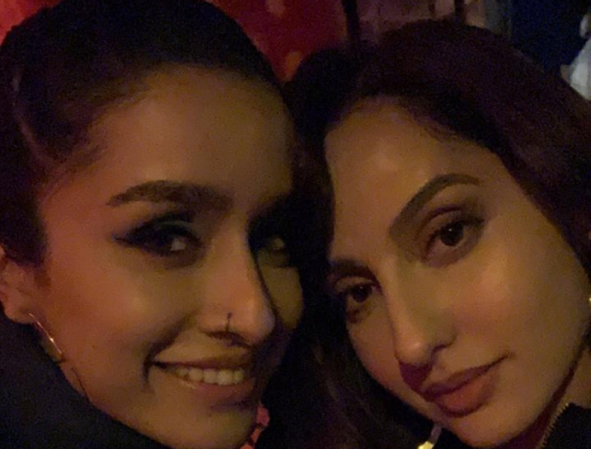 Shraddha Kapoor, Nora Fatehi bond with each other on the sets of 'Street Dancer 3D' in London