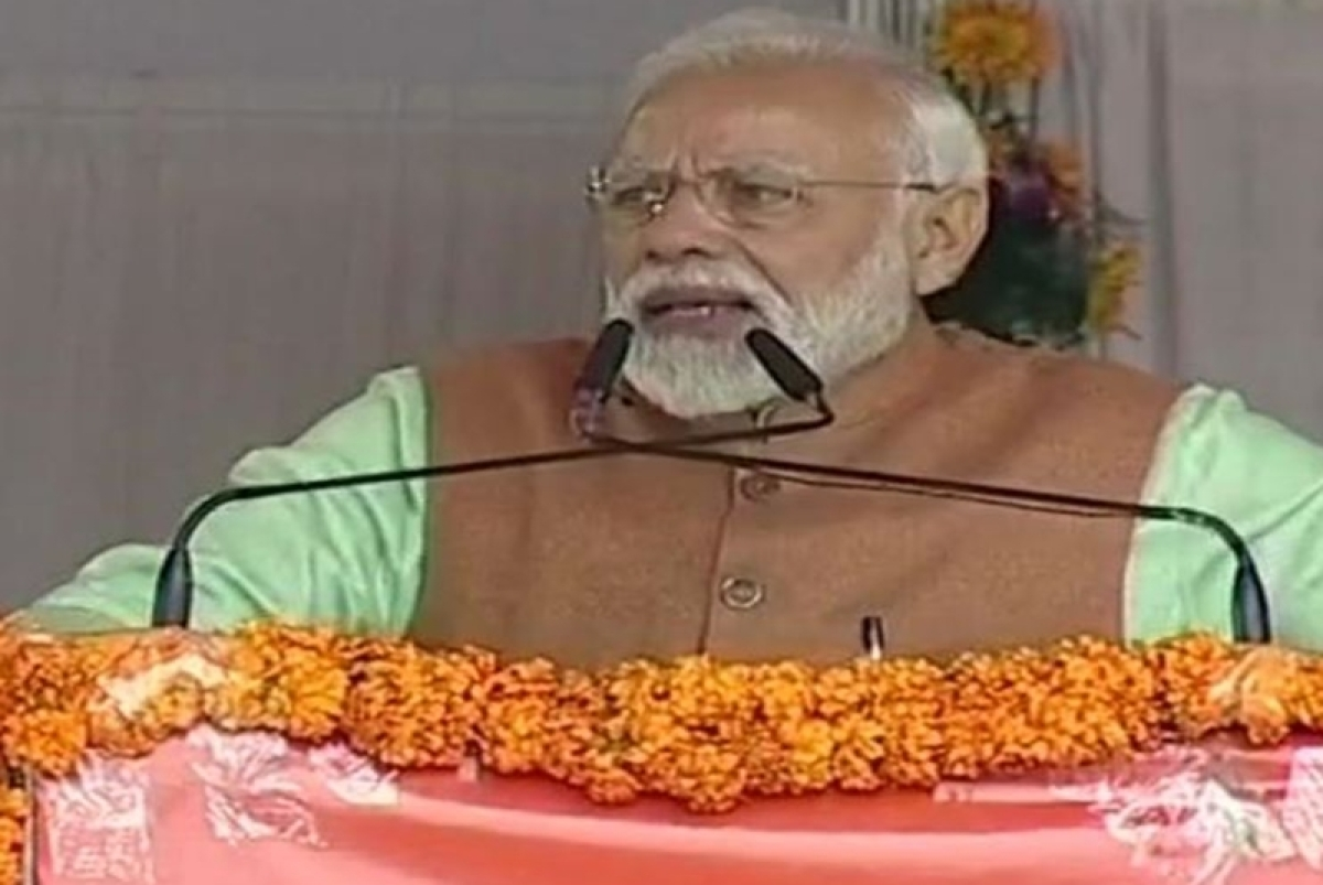 Armed forces suffered due to criminal negligence by previous dispensation: PM Modi