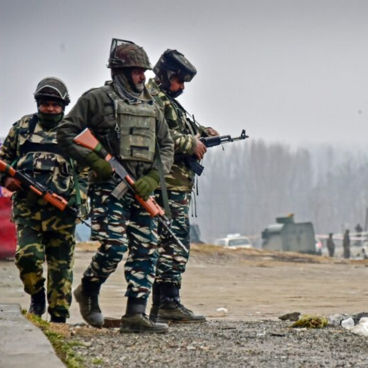 Two terrorists killed in an encounter with security forces in Jammu and Kashmir's Kulgam