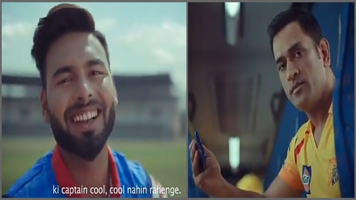 Rishabh Pant issues friendly warning to MS Dhoni ahead of IPL 2019; captain cool's reaction is can't be missed, watch video