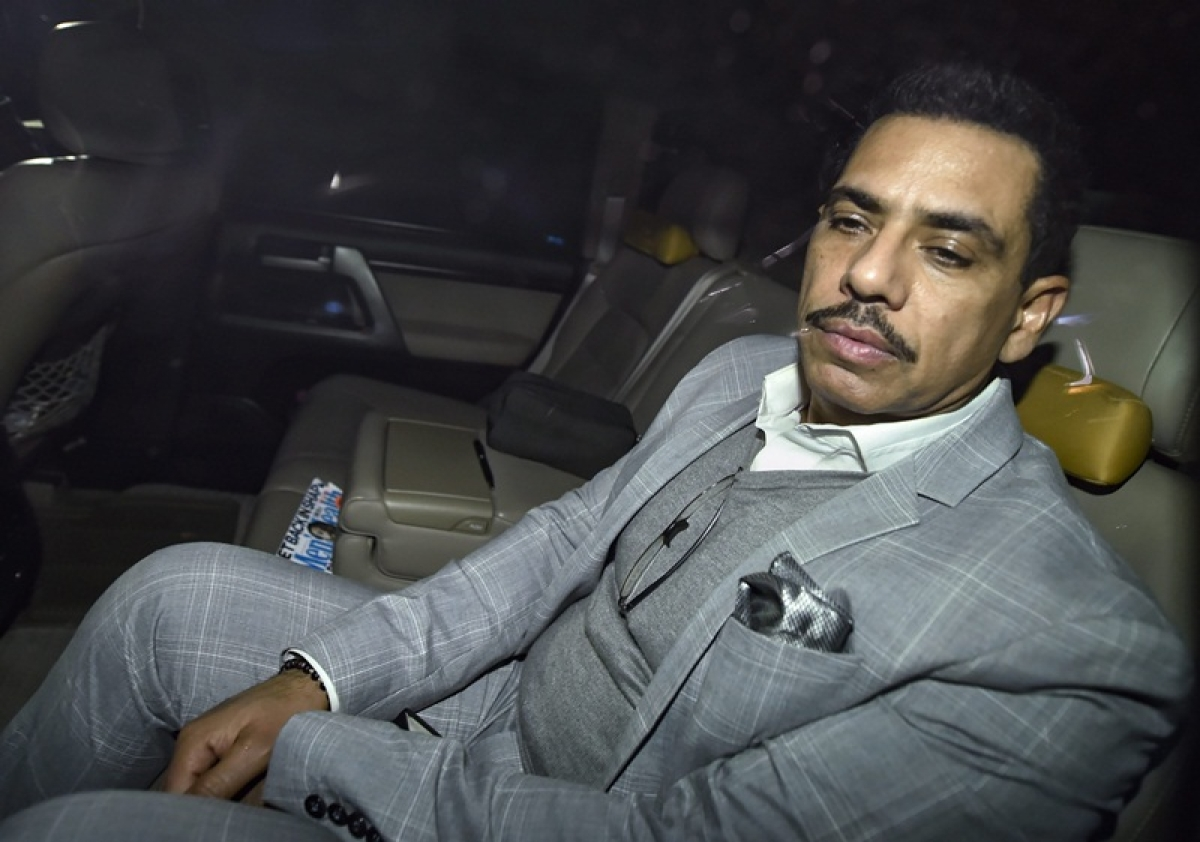 No interim relief for Robert Vadra