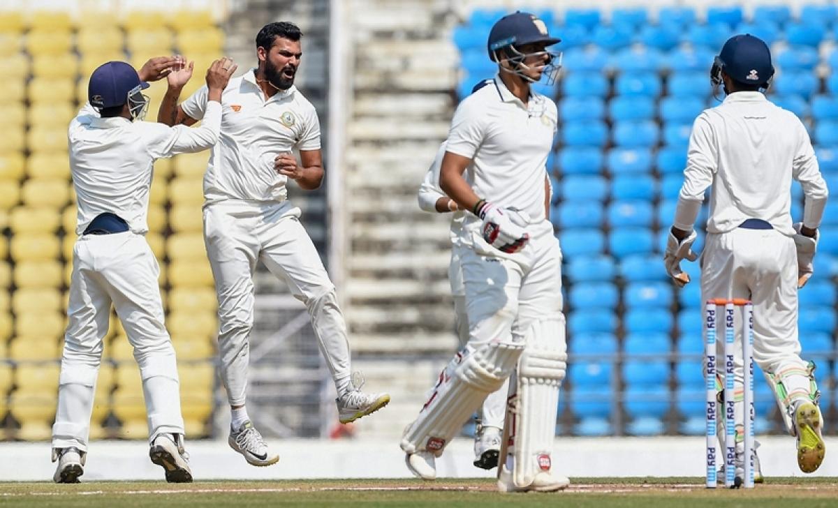Ranji Trophy final: Sarwate, Karnewar put Vidarbha on top, Saurashtra reduced to 158/5 at stumps