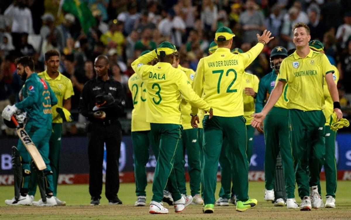 South Africa vs Pakistan 1st T20I: Faf du Plessis, Reeza Hendricks end Pakistan's winning streak
