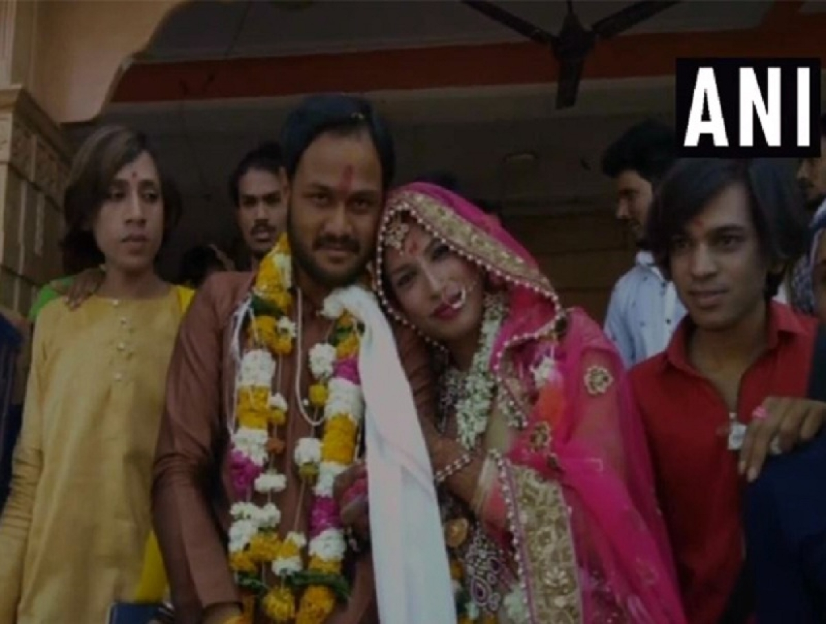 Defying all odds, MP man marries transgender on Valentine's Day