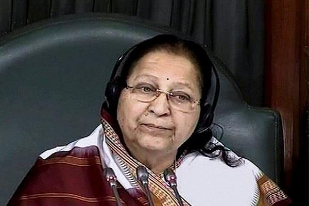 Politics cannot have a fixed retirement age: Sumitra Mahajan after deciding not to contest Lok Sabha elections
