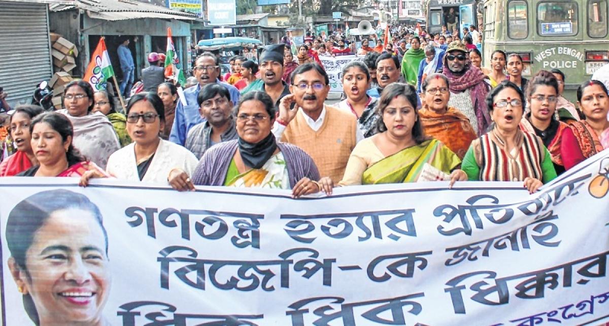 CBI's Kolkata adventure paralyses Parliament
