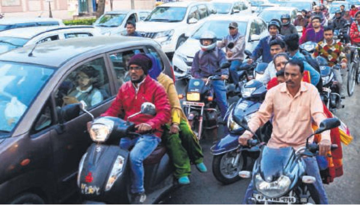 IIM-Indore prepares report on smart traffic flow