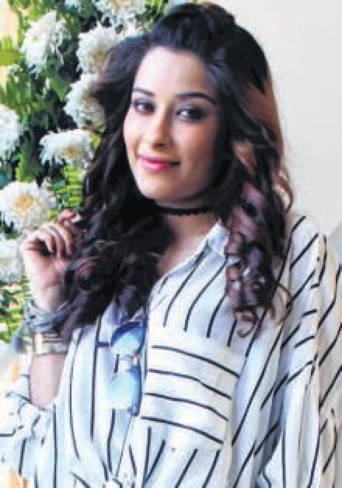 Bhopal: Actor Nyra Banerjee promotes debut show in city