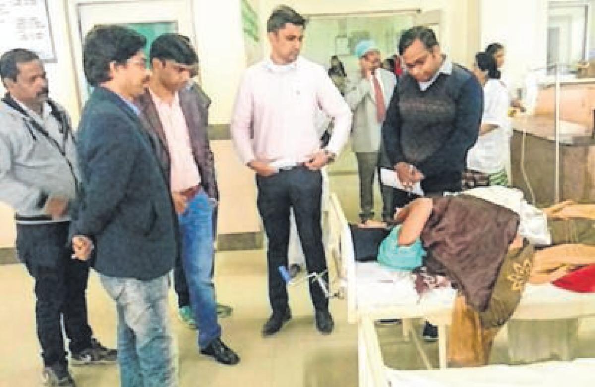 Ujjain: Charak Hospital inspected