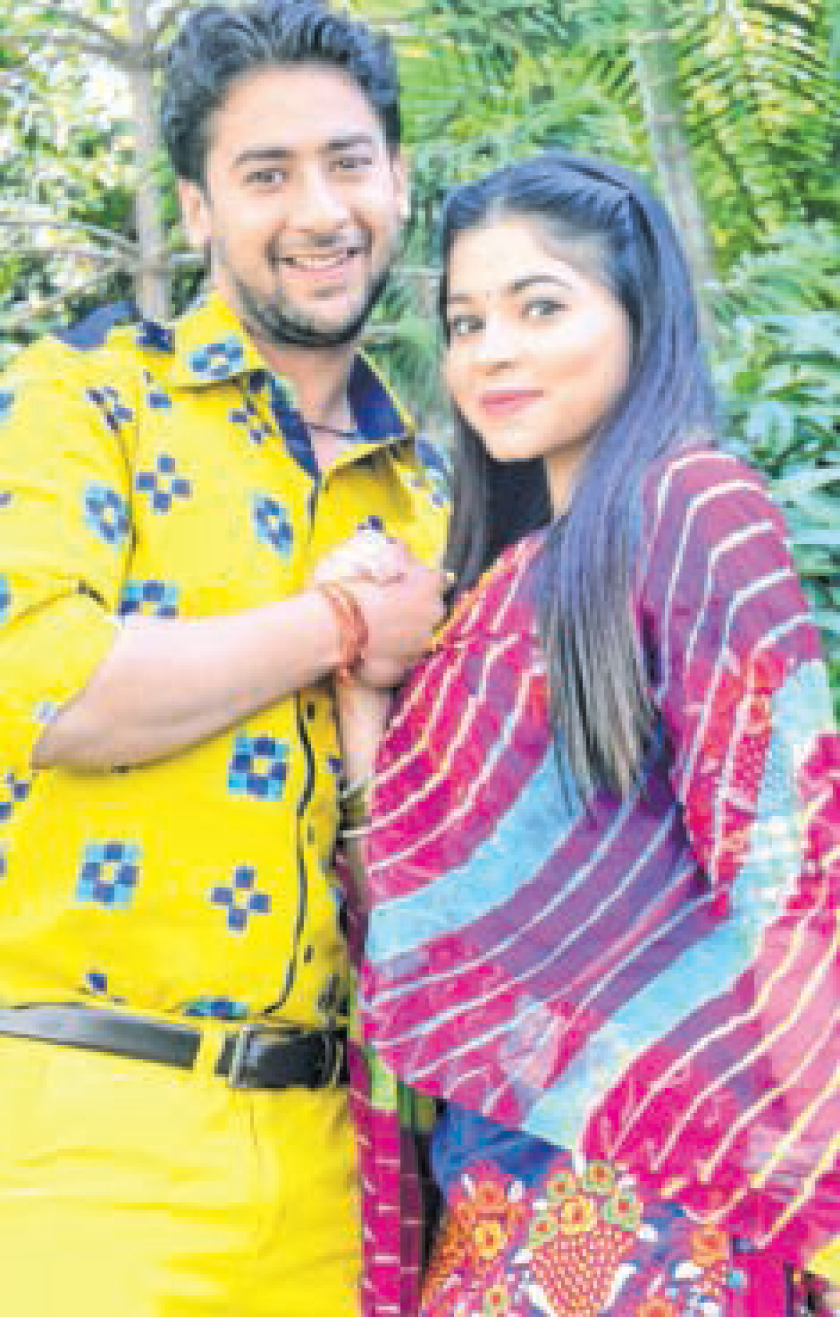 Bhopal: Paras & Shivani promote show in city