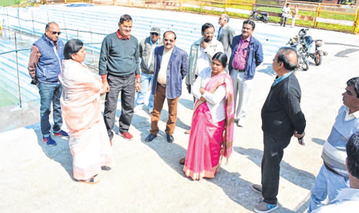Ujjain: UMC gears up for Somwati Amavasya, mayor inspects Somteerth Kund