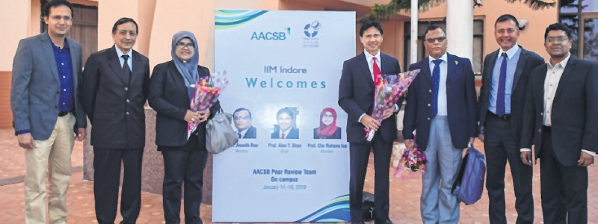 Indore: After AMBA, city's elite B-school gets AACSB accreditation