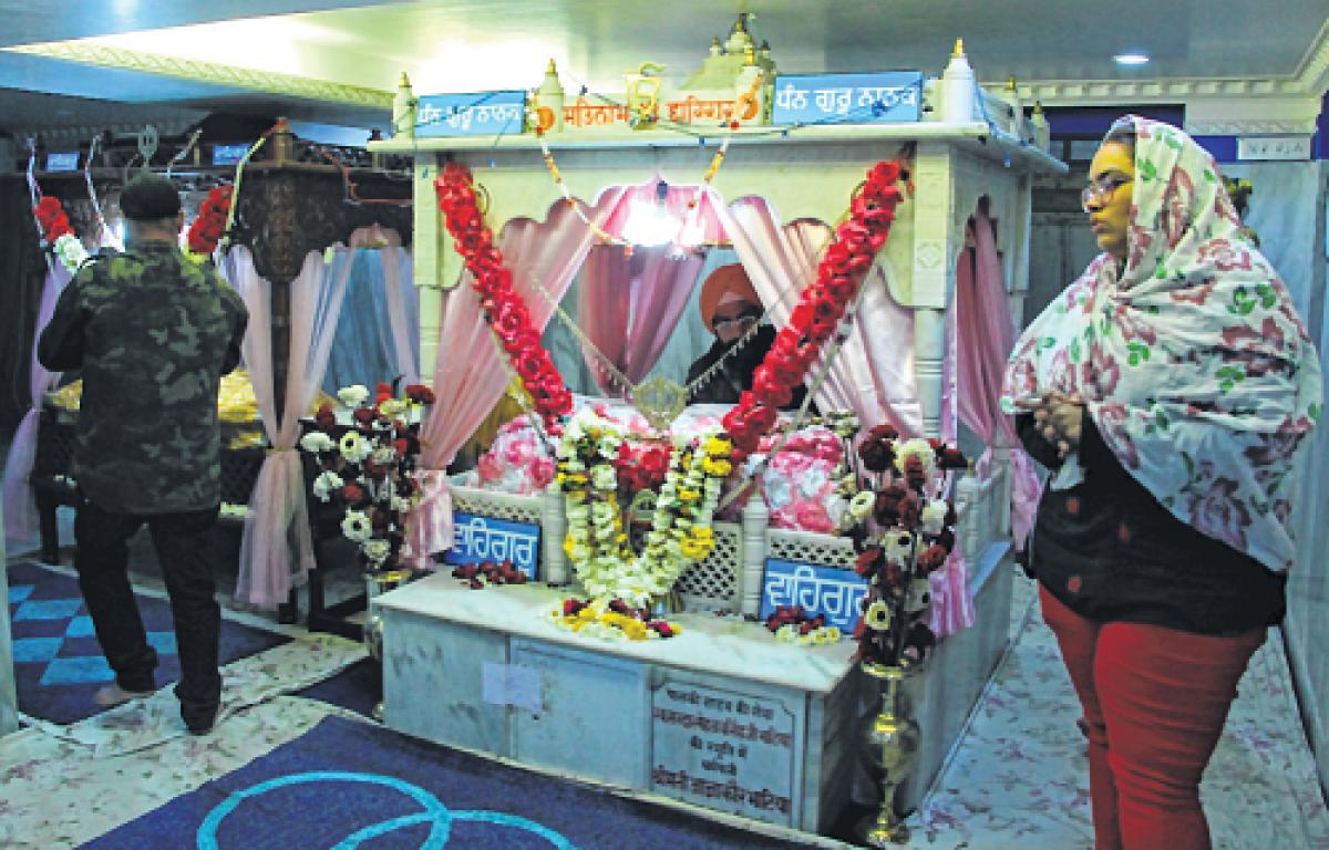 Indore: Bhajans, hymns at Imli Sahib gurdwara