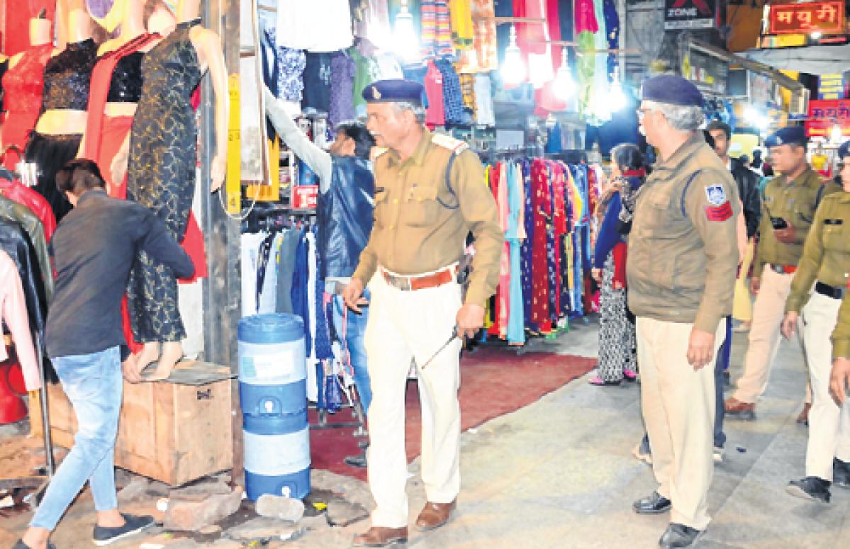 Bhopal: 'Keep belongings within shop'