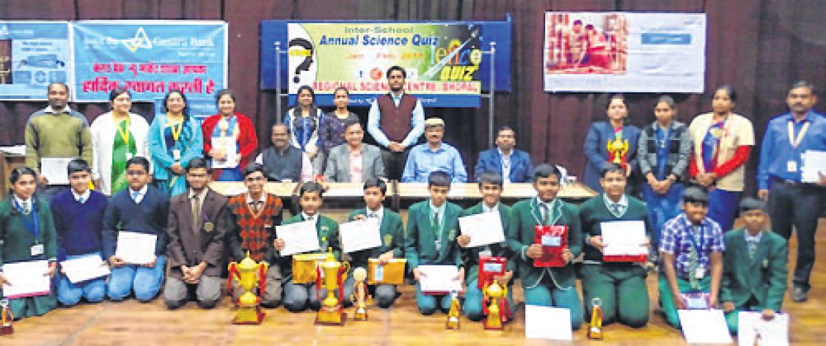 Bhopal: Delhi Public School, Sharda Vidya Mandir clinch titles