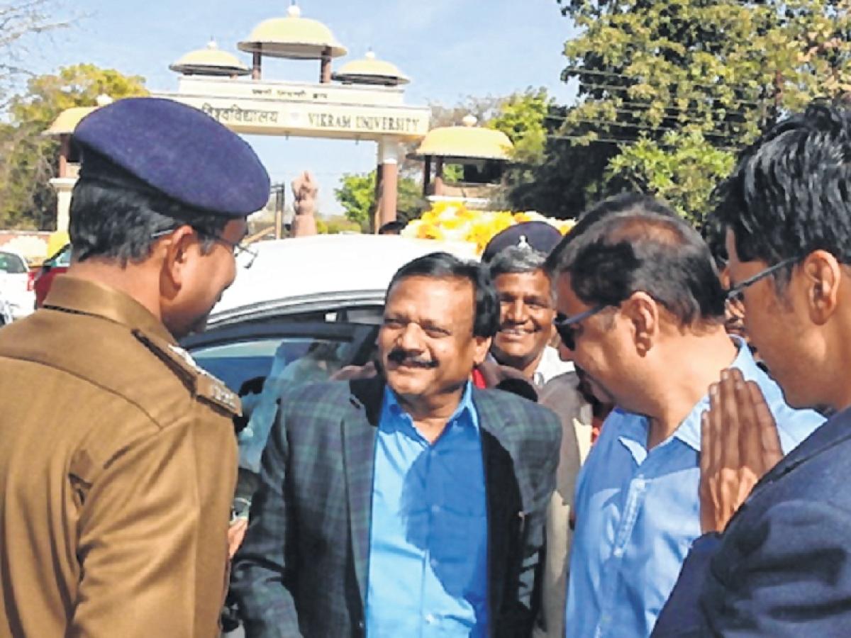 Ujjain: Mismanagement mars minister's visit again