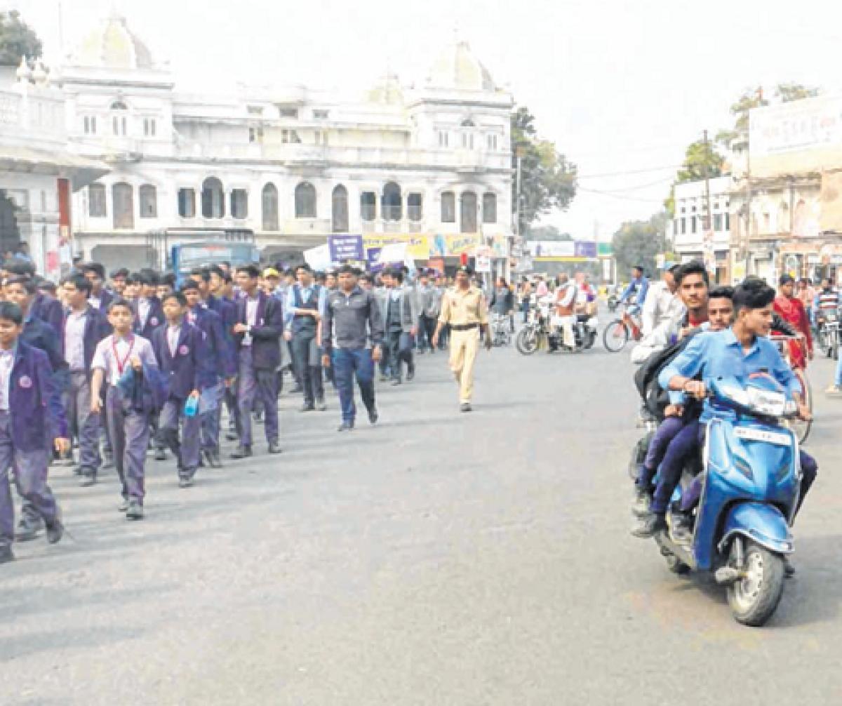 Ujjain: Traffic week kicks off