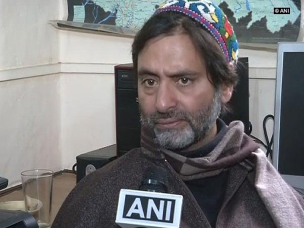 Yasin Malik brought to Delhi; to be quizzed in terror-funding case
