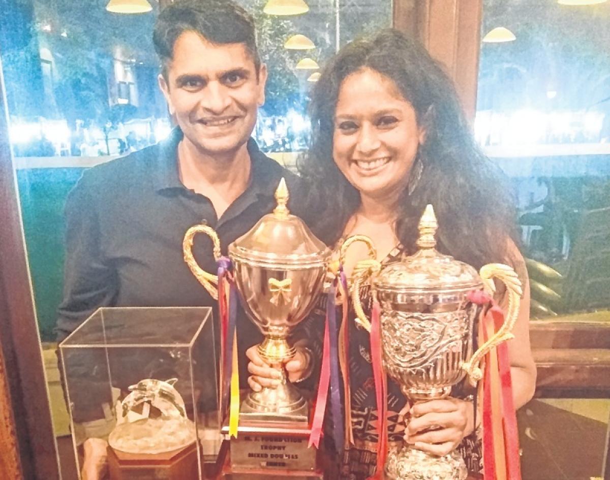 Inter-club badminton tournament: Double crown for Ashutosh Pednekar, Deanne Rodrigues