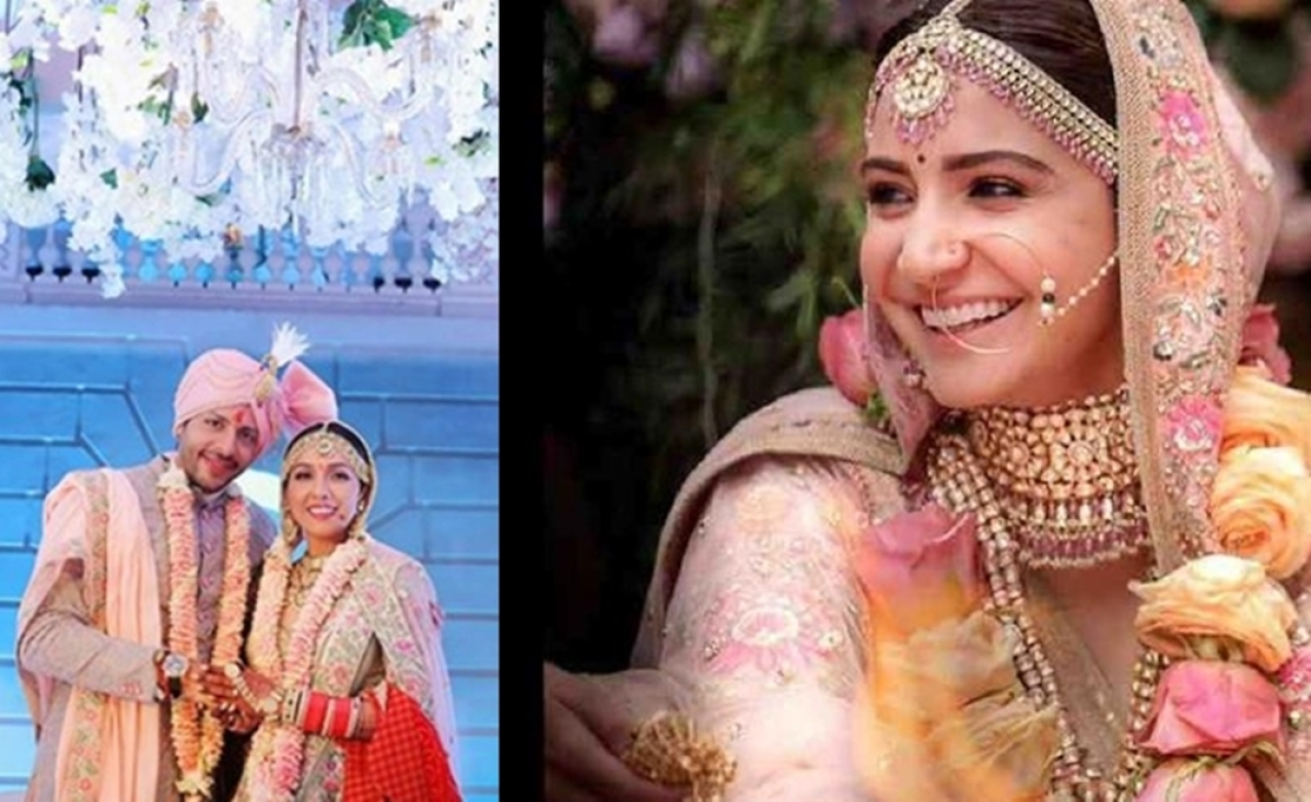 Neeti Mohan's wedding outfit inspired by Anushka Sharma? Check out the uncanny resemblance
