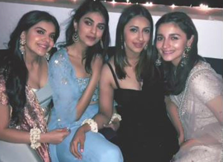 Watch video! Alia Bhatt is the perfect bridesmaid at her bestie's wedding