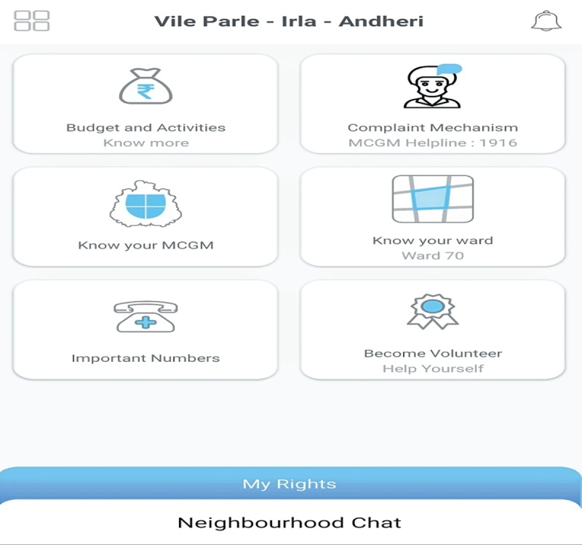 Mumbai: : Andheri residents test-drive app to interact with civic officials, lawmakers