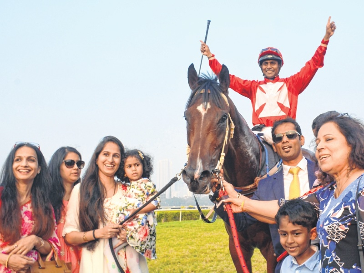 It is Brother in Arms at Indian Derby! Siblings Suraj and Rajesh make history in racing