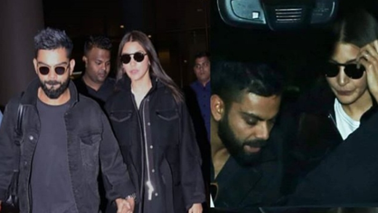 Virat Kohli and Anushka Sharma back in town after celebrating Valentine's Day in Delhi; see pics