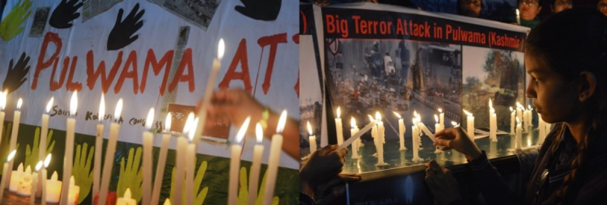 Pulwama terror attack: Protests errupt across country
