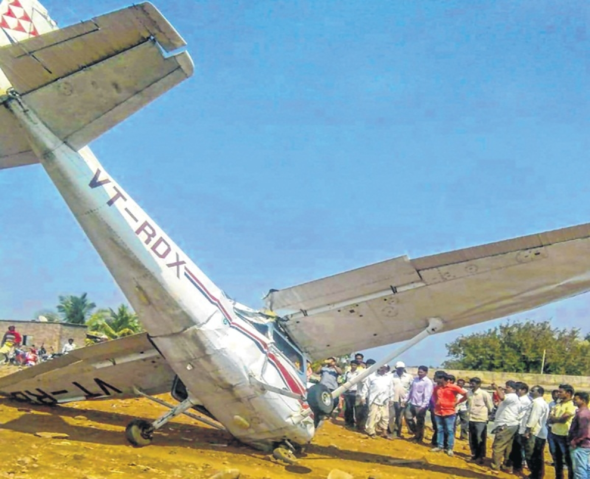 Trainer aircraft crashes, pilot injured in Pune