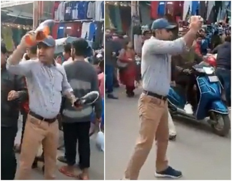 Watch Video! Man chants 'Pakistan Murdabad' to sell shoes, video goes viral