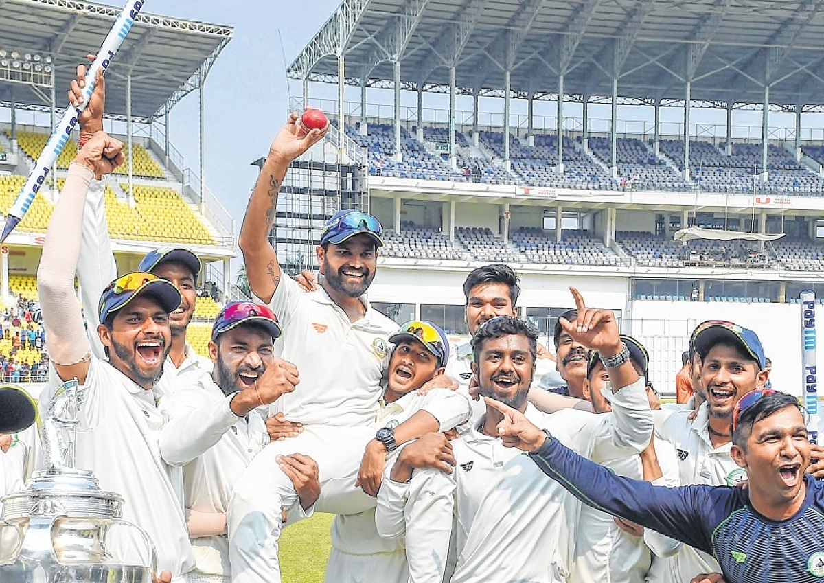 Vidarbha Cricket Association announces Rs 3 crore prize money for victorious Ranji team