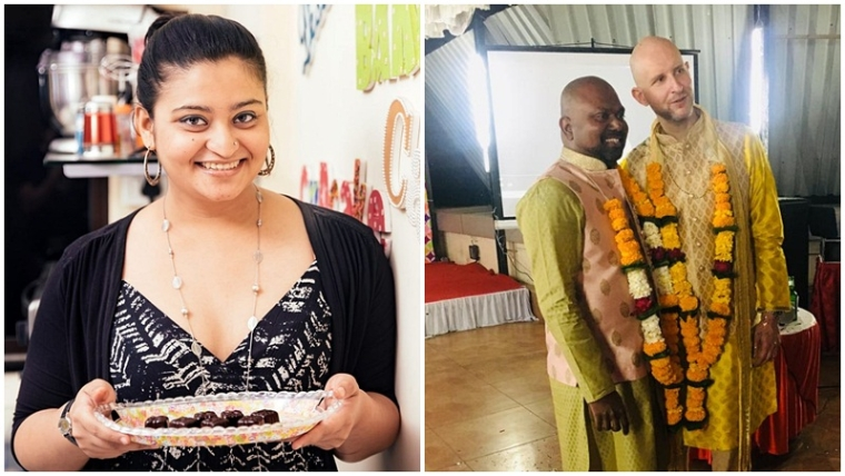 This Mumbai baker made wedding cake for the first same-sex wedding party post Section 377 verdict
