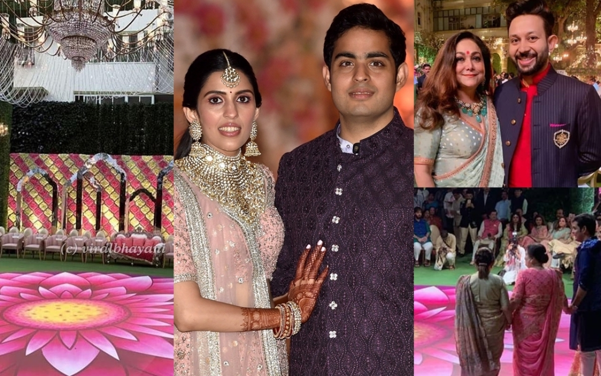Akash Ambani-Shloka Mehta kick-start wedding celebrations with Falguni Pathak's special performance