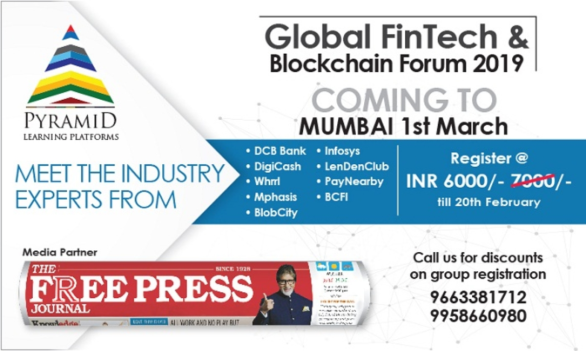 Global Fintech & Blockchain Forum 2019