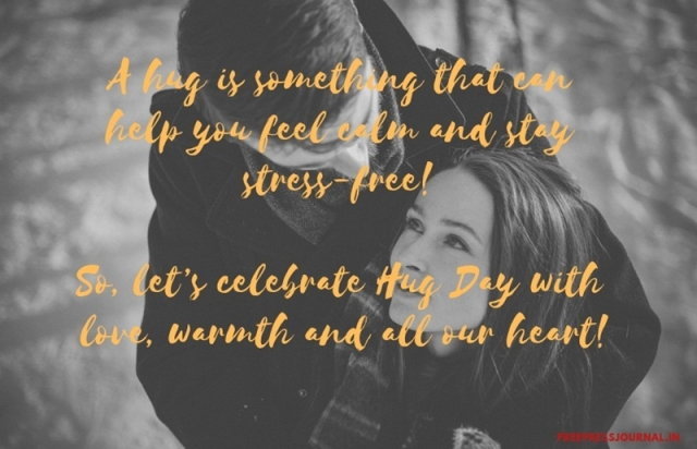 Hug Day 2019: Wishes, greetings, images to share on SMS, WhatsApp, Facebook