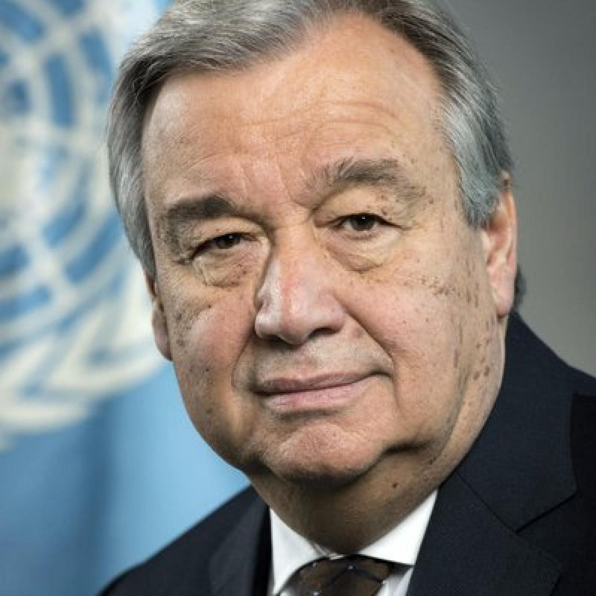 Antonio Guterres calls for calming tension; Islamabad envoy meets UN leaders