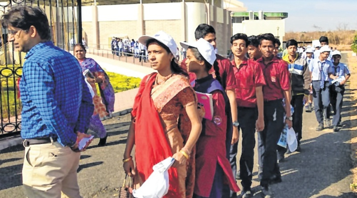 Indore: Science exhibition organised for students