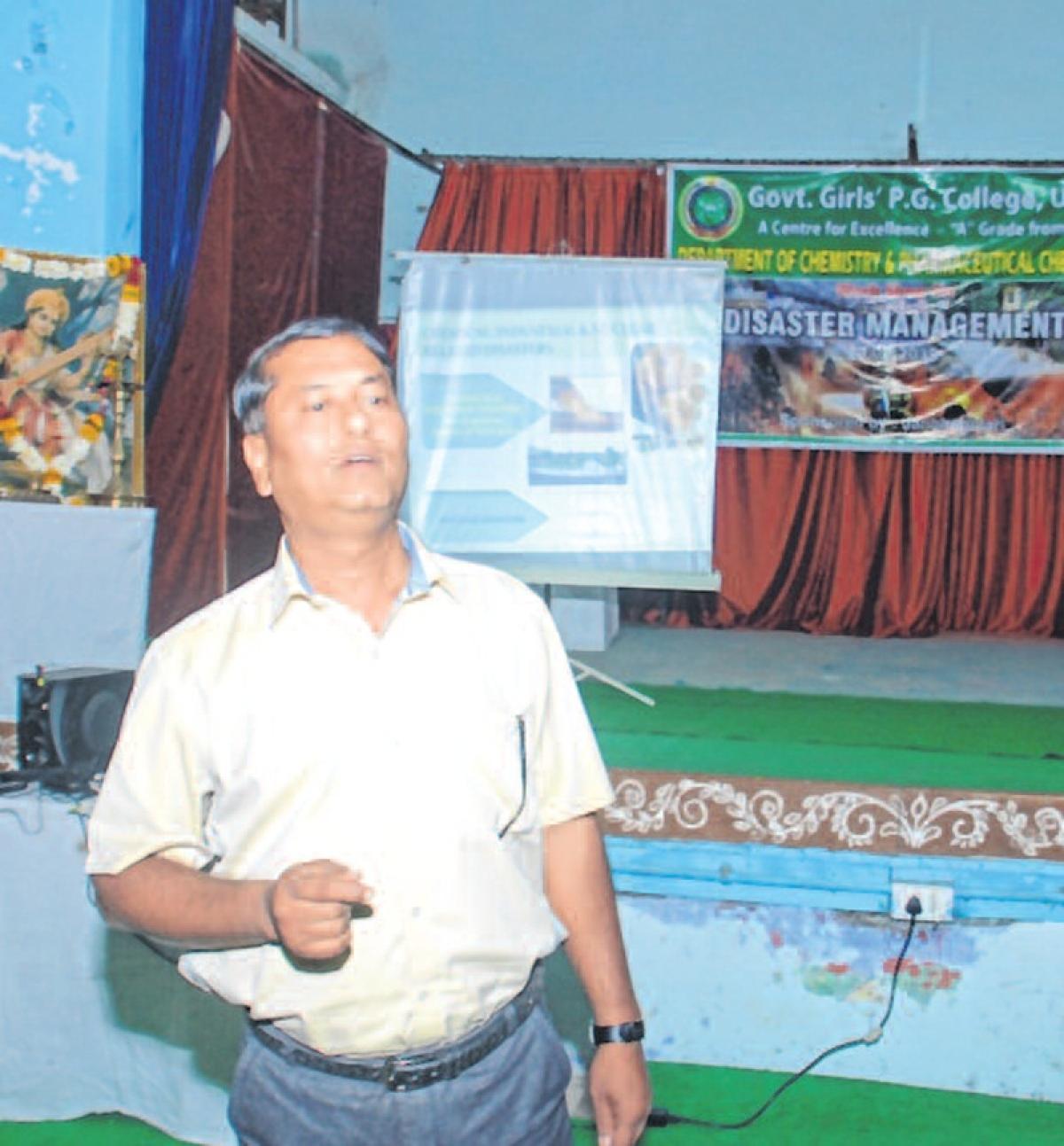 Ujjain: Workshop on chemical mishap organised