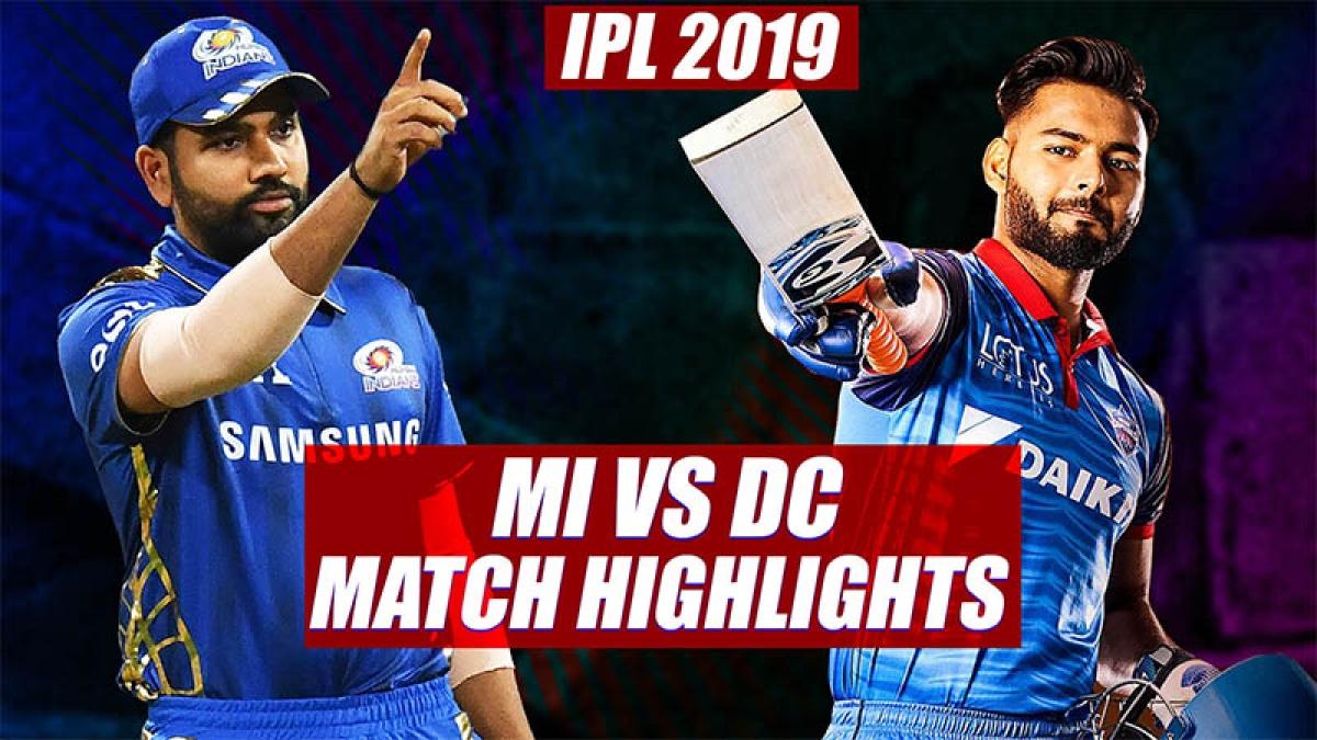 IPL 2019: Mumbai Indians vs Delhi Capitals | Match Highlights