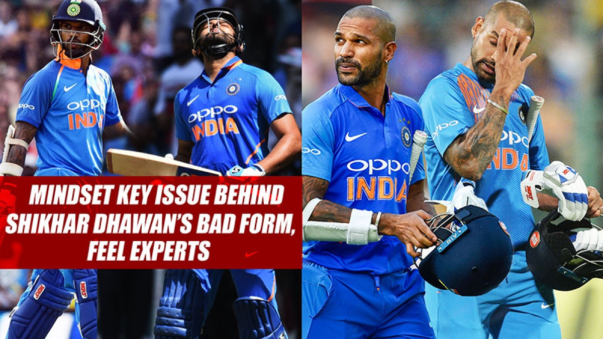 Mindset Key Issue Behind Shikhar Dhawan's Bad Form, Feel Experts