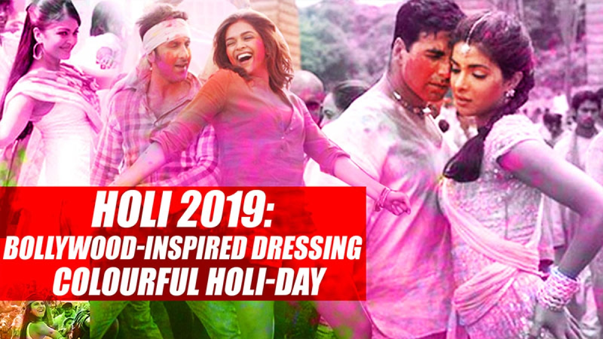 Holi 2019: Bollywood-inspired dressing for a colourful Holi-day