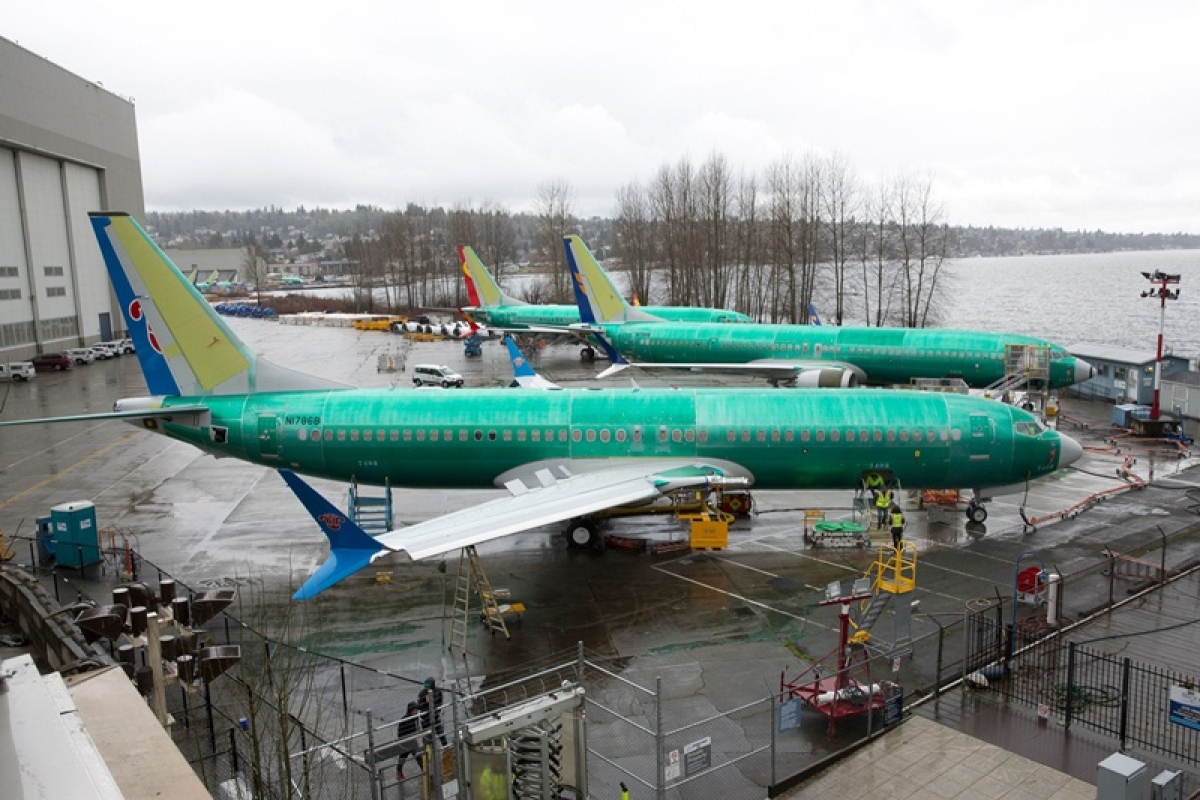 737 Max planes software update complete, says Boeing